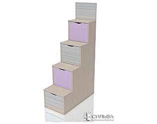 Лестница с ящиками Сильва Рико Модерн  НМ 011.64