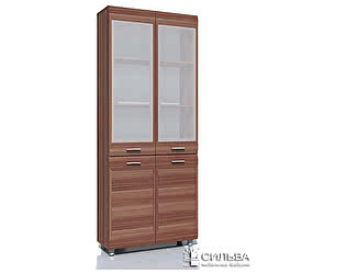 Шкаф для книг Сильва Капри НМ 014.04 РС