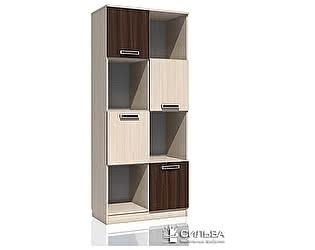 Шкаф для книг Сильва Рико НМ 009.06 М Дуб Тортона