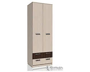 Шкаф для одежды с ящиками Сильва Рико НМ 013.02-03 Дуб тортона