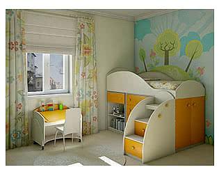 Детская мебель Компасс Маугли