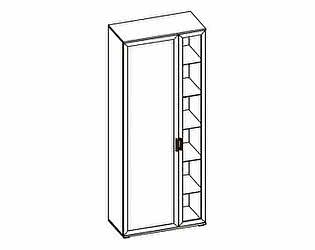 Шкаф двухдверный комбинированный МегаЭлатон Индиго И-3