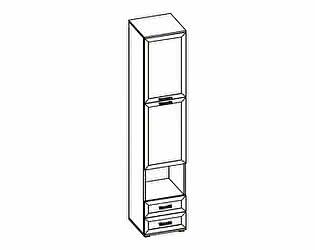 Шкаф комбинированный МегаЭлатон Индиго И-7