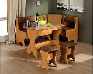 Кухонный угловой диван Троя-1 МегаЭлатон