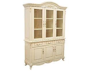 Купить шкаф МИК Мебель Книжный Милано MK-1863-IV Слоновая кость