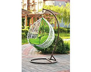 Купить кресло МИК Мебель Подвесное кресло MK-3628-GW Белый/зеленый