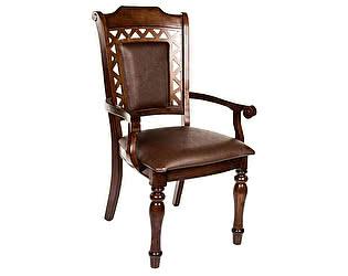 Купить кресло МИК Мебель Стул Charlize MK-4521-LW Темный орех/Коричневый
