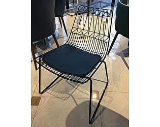 Купить стул МИК Мебель Стул Экли с подушкой MK-5630-BL Черный