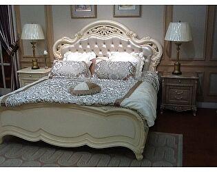 Кровать Милано 8802 С n003585 (180х200) с кристаллами