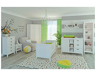 Набор мебели для детской ММЦ Сиело, комплектация 4