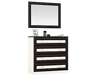 Купить комод Мебельный Двор Аврора К-10А + Зеркало подвесное