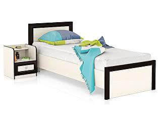 Купить кровать Мебельный Двор Аврора 800 + тумба