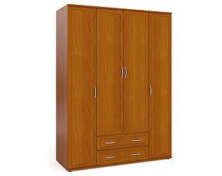 Шкаф Мебельный двор ШК-5 для одежды и белья 4-х дверный