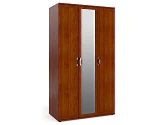 Шкаф Мебельный двор ШК-4 для одежды и белья 3-х дверный с зеркалом (одно зеркало в центре)