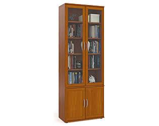 Купить шкаф Мебельный Двор ШК-8 многоцелевого назначения плоский двери со стеклом