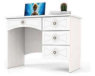Купить стол Мебельный Двор Онега МД-1-06 однотумбовый с 4 ящиками