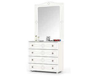 Комод Мебельный двор Онега К-15 + ЗН-1 с зеркалом