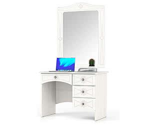 Туалетный стол Мебельный двор Онега МД-1-06 + ЗН-1 с зеркалом