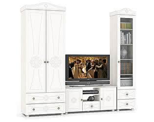 Гостиная Мебельный двор Онега Компоновка 07 ШК-32 + ТВ-10 + ШК-35