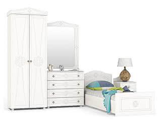 Купить детскую Мебельный Двор Онега Компоновка 15 К-15 + КР-800БЯ + ТП-1 + ЗН-1 + ШК-31