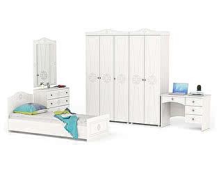 Купить спальню Мебельный Двор Онега Компоновка 16 К-15 + КР-800БЯ + МД-1-06 + ЗН-1 + ШК-31 + ШК-33