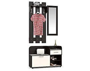 Прихожая Мебельный двор Пэ Пять(П5) Компоновка № 2 Тумба 1050+Вешалка 600+Зеркало в раме