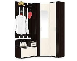 Прихожая Мебельный двор Пэ Пять(П5) Компоновка № 5 Тумба 800+Вешалка 800+Шкаф угловой с зеркалом+Шка