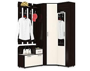 Прихожая Мебельный двор Пэ Пять(П5) Компоновка № 6 Тумба 800+Вешалка 800+Шкаф угловой+Шкаф платяной
