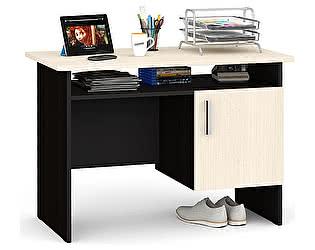 Стол письменный Мебельный двор С-МД-1-01 однотумбовый с дверью