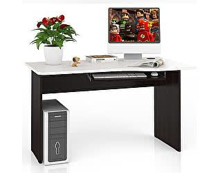 Стол письменный Мебельный двор С-МД-1-04П + Панель под клавиатуру С-МД-4-03