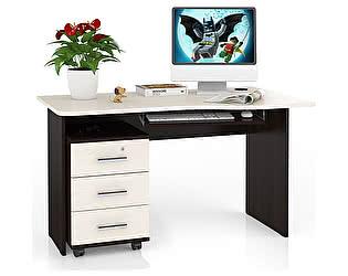 Стол письменный Мебельный двор С-МД-1-04ПТ + Панель С-МД-4-03+ Тумба С-МД-3-02