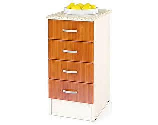 Купить стол Мебельный Двор Мери ШН4Я400 40 см с 4 ящиками, универсальная дверь
