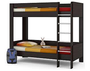 Двухъярусная кровать Mobi Ника 438М, венге магия