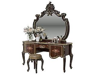 Купить стол Мэри-Мебель Шейх СШ-05 + Зеркало СШ-06 + Пуф СШ-07