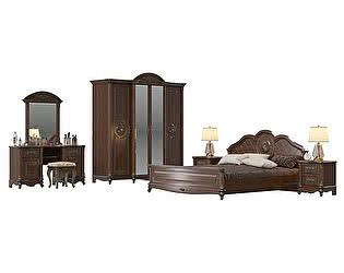 Спальня Мэри-Мебель Да Винчи 02 СД-03 + СД-02 + СД-03 + СД-01 + СД-04 + СД-06 + СД-07