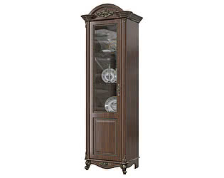 Шкаф Мэри-Мебель Да Винчи ГД-01 1-дверный левый
