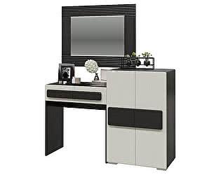 Купить стол Мэри-Мебель Престиж с зеркалом и тумбой СП-10 + СП-12 + СП-11