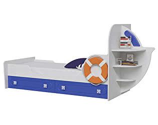 Купить кровать Мэри-Мебель Парус Яхта-1 одноярусная