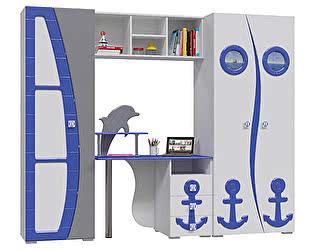 Детская мебель Мэри-Мебель Парус П-1 + П-2 +  П-3 +  П-4