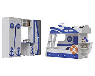 Детская мебель Мэри-Мебель Парус Комплектация 01 П-1 + П-2 + П-3 + П-4 + Яхта-2