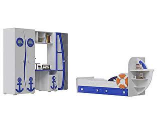 Детская мебель Мэри-Мебель Парус Комплектация 02 П-1 + П-2 + П-3 + П-4 + Яхта-1