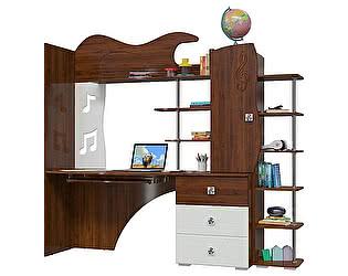 Детская Мэри-Мебель Мелодия (стол компьютерный + стеллаж)