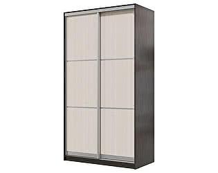 Купить шкаф Мэри-Мебель Мэри Де-Люкс 1200 2-х дверный, цвет дуб венге/двери № 1