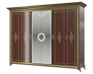 Шкаф Мэри-Мебель Версаль СВ-02 № 3 6-ти дверный (без короны)