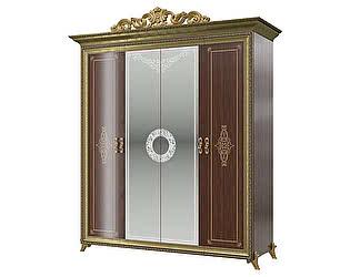 Шкаф Мэри-Мебель Версаль СВ-01К 4-х дверный с короной № 3