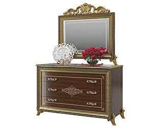 Купить комод Мэри-Мебель Версаль СВ-06 + зеркало СВ-08К с короной
