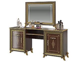 Стол туалетный Мэри-Мебель Версаль СВ-07 +  зеркало СВ-08 без короны