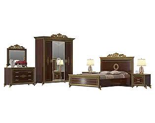 Спальня Мэри-Мебель Версаль № 1 СВ-05+СВ-03ШК+СВ-05+СВ-01К+СВ-06+СВ-08К