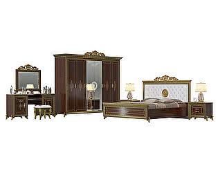 Спальня Мэри-Мебель Версаль № 2 СВ-05+СВ-04МИК+СВ-05+СВ-02К+СВ-07+СВ-08К+СВ-09
