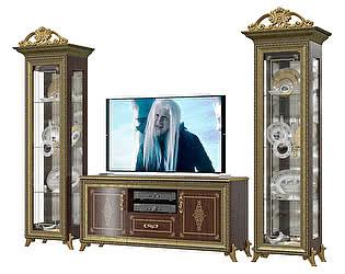 Гостиная Мэри-Мебель Версаль ГВ-01К+ГВ-03+ГВ-01К